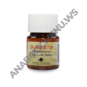 Global Anabolic Dbol 10mg