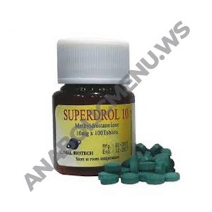 Global Anabolic Superdrol-10mg