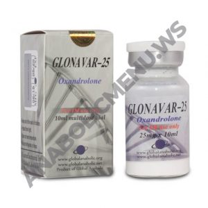 Global Anabolic Injectable Anavar 25mg