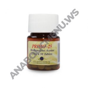 Global Anabolic Primobolan Pills 25mg