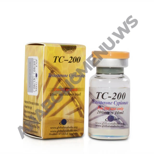 Global Anabolic Testosterone Cypionate 200mg