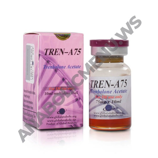 Global Anabolic Trenbolone Acetate 75mg