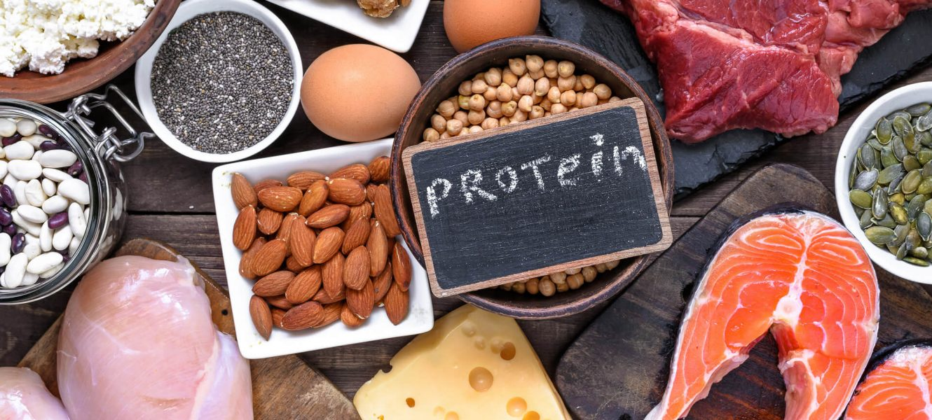 High-protein diet for losing weight